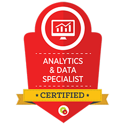 image of analytics data mastery certification