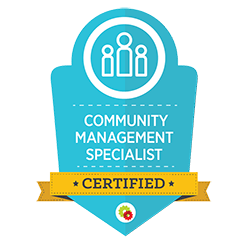 image of community management certification