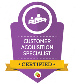 image of customer acquisition specialist certification