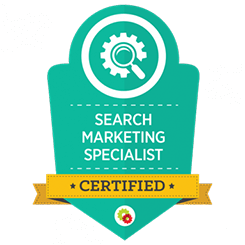 image of search marketing mastery certification